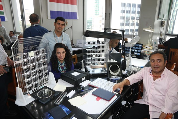 Second Day in the Diamond Week and Dan Shapiro visited 9.2.2015