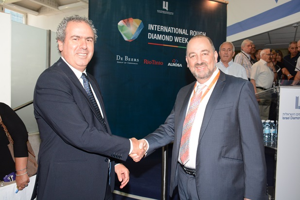 Opening of international rough diamond week 22.5.2016